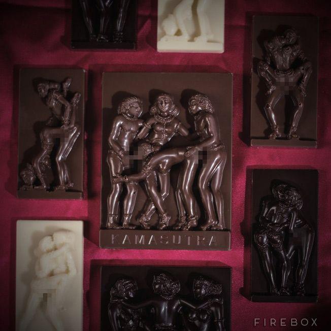 IdeaFixa » Kama Sutra em chocolates