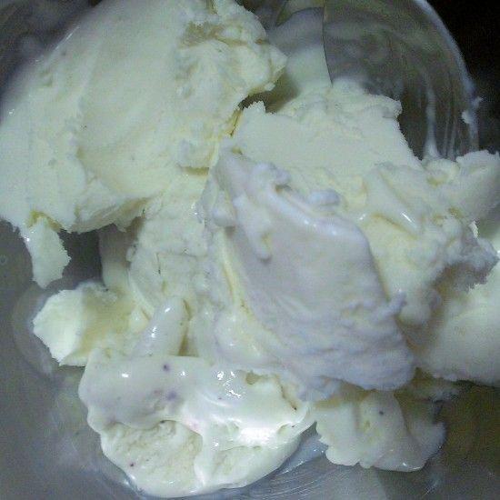 Rose, Orange and Vanilla Salted Ice Cream