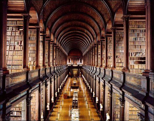 The Long Room - Trinity Library,Dublin....