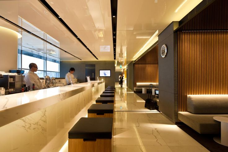 Cathay Pacific Lounges, Hong Kong International Airport | Projects | Foster + Partners
