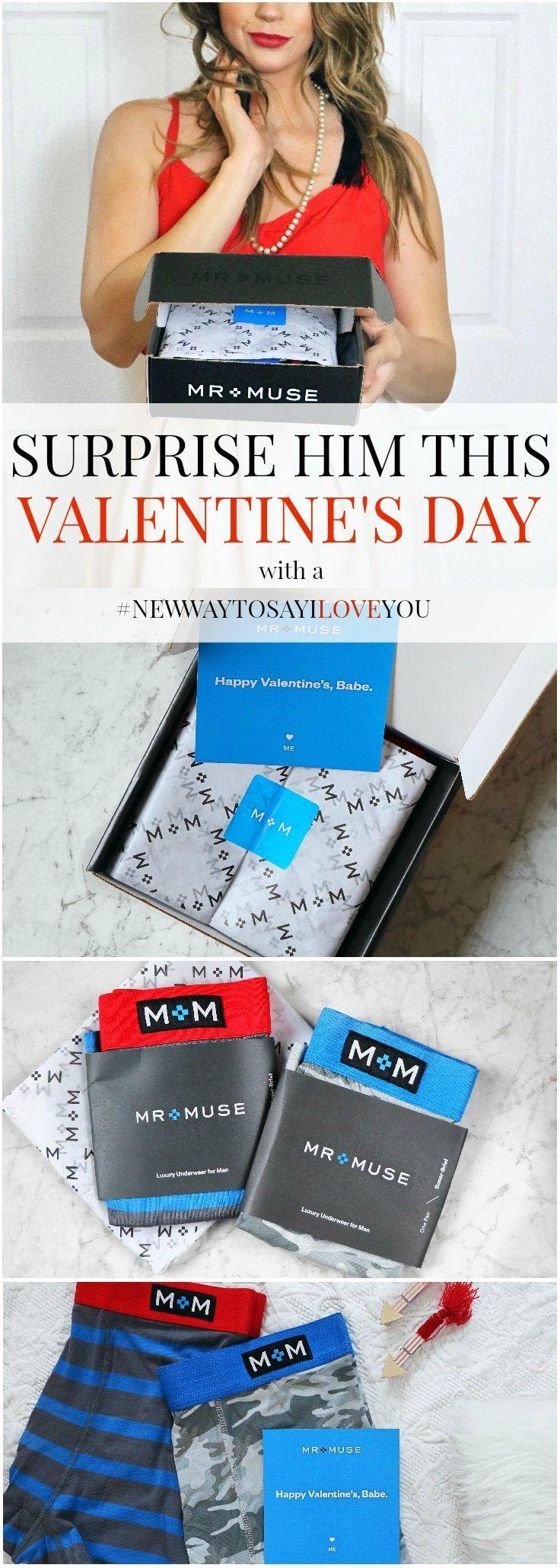 Best Valentine's gift for husband / boyfriend. luxury underwear with discount code! MUSE20