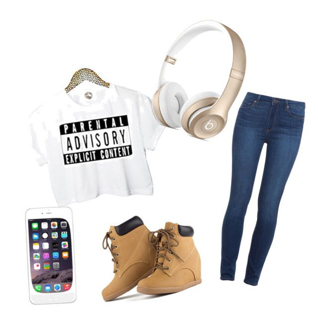 """""""Untitled #1"""" by shaye1z ❤ liked on Polyvore featuring Paige Denim"""