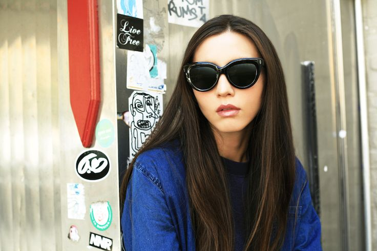 black cat eye sunglasses for oval small face