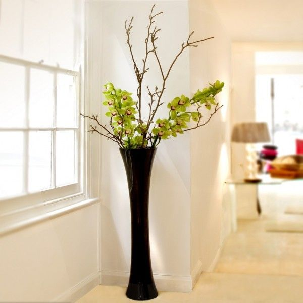 Best 25 floor vases ideas on pinterest living room for Floor vase ideas
