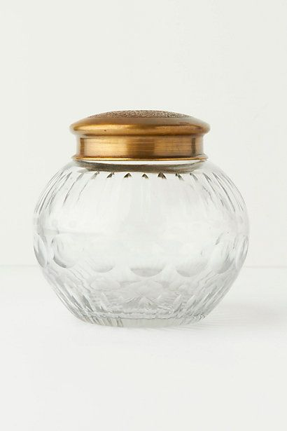 The Baker's Jar - anthropologie.com (bathroom vanity accessory)