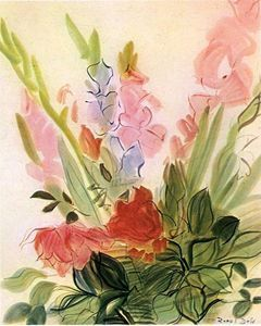 Glaïeuls ~ Raoul Dufy ~ (French: 1877-1953)
