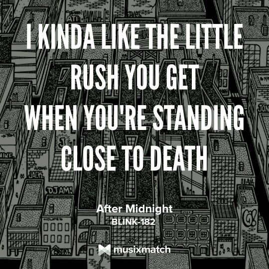 Blink-182 - After Midnight | Neighborhoods | 2011 Lyric quote lyrics quotes mark hoppus travis barker tom delonge matt skiba alkaline trio