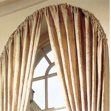 master bathroom window treatment ideas for curved windows