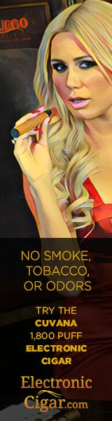 #Ecigars   http://www.planetgoldilocks.com/e_cigarettes Try the CUVANA E-CIGAR at ElectronicCigar.com #ecigarettes