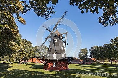 Windmill in the citadel of Copenaghen