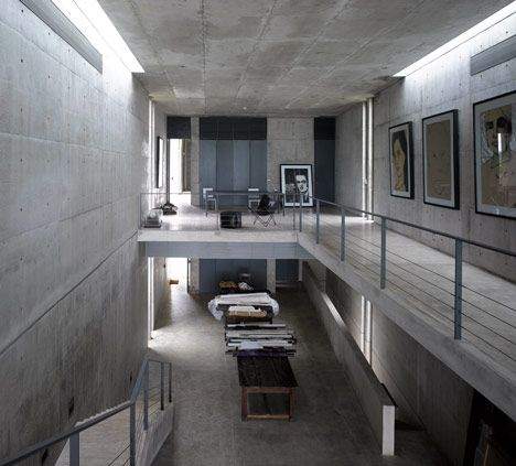 Concrete House Sri Lanka by Tadao Ando