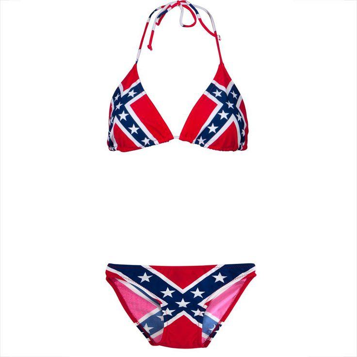 Rebel Flag Bikini Set