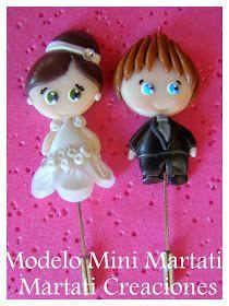 Martati creaciones FIMO: Detalles de boda
