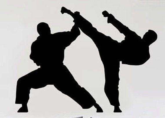 Martial Arts Uber Decals Wall Decal Vinyl Decor Art Sticker Removable Mural Modern A313 Martial Arts Karate Martial