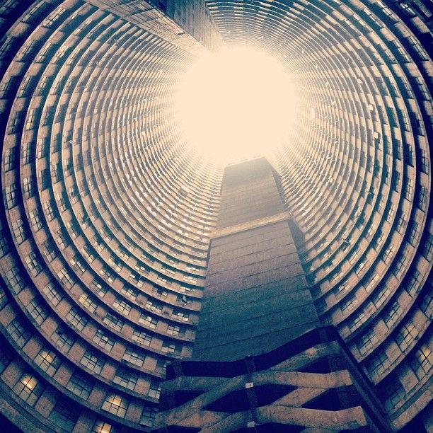 Ponte City in Johannesburg. #architecture #buildings