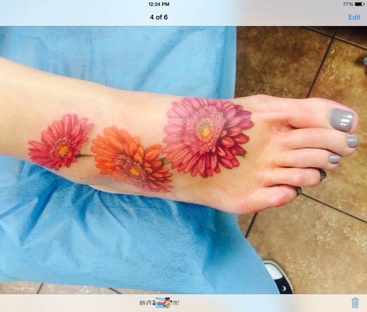 Lifelike gerbera daisies                                                                                                                                                      More