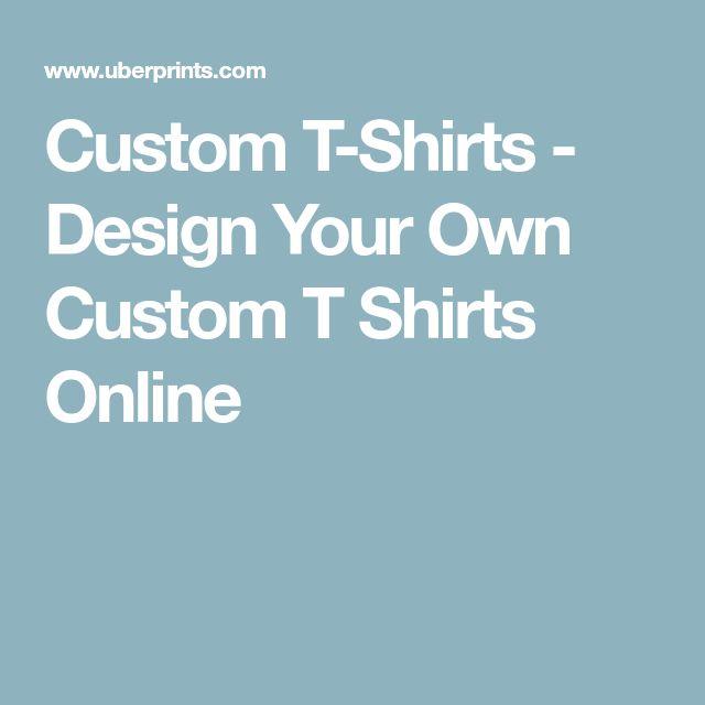 Custom T-Shirts - Design Your Own Custom T Shirts Online