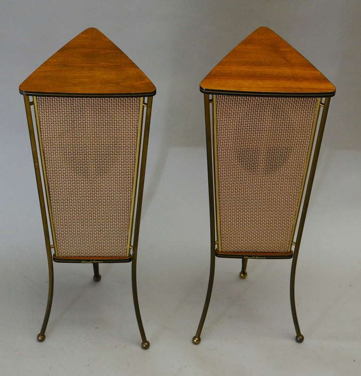 Mid-Century Modern Freak | 1960s Schaub Lorenz WalnutEnd Table Speakers |...