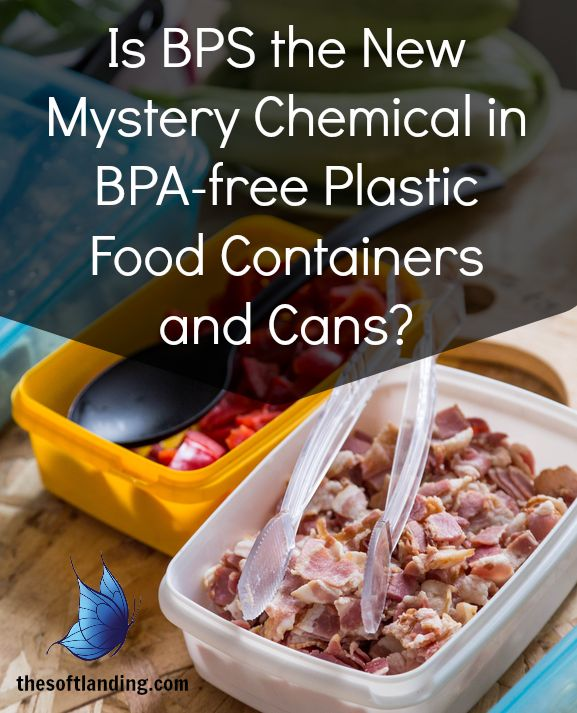 Is BPS the New Mystery Chemical in BPA-free Plastic Food Containers and Cans? | thesoftlanding.com