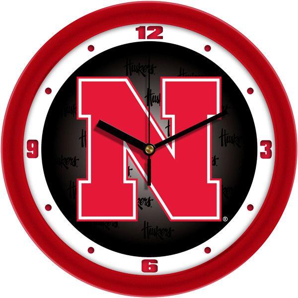 Nebraska Cornhuskers - Dimension Wall Clock