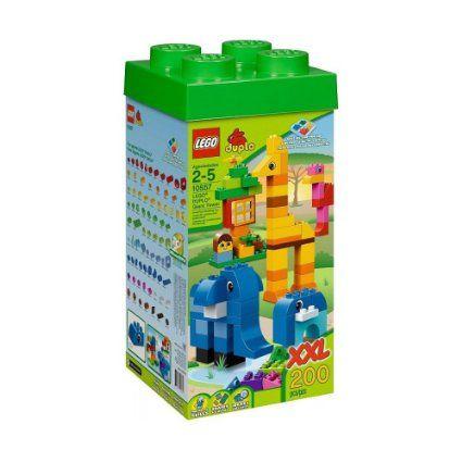LEGO Duplo 10557 XXL Steinebox 200 Steine - weil man immer höher bauen kann und einer manchmal keine Steine hat :I