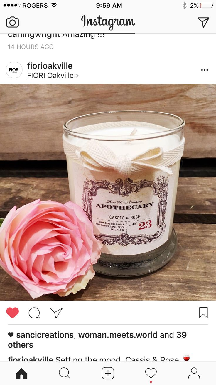 Apothecary Candles by Pure Home Couture