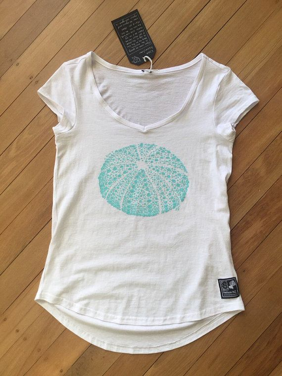 Ladies Kina T-Shirt White by SonjaHandcraftedTees on Etsy