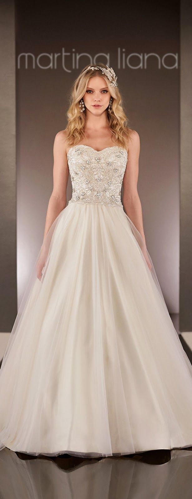 104 best wedding dresses images on pinterest wedding dressses martina liana spring 2015 bridal collection ombrellifo Image collections