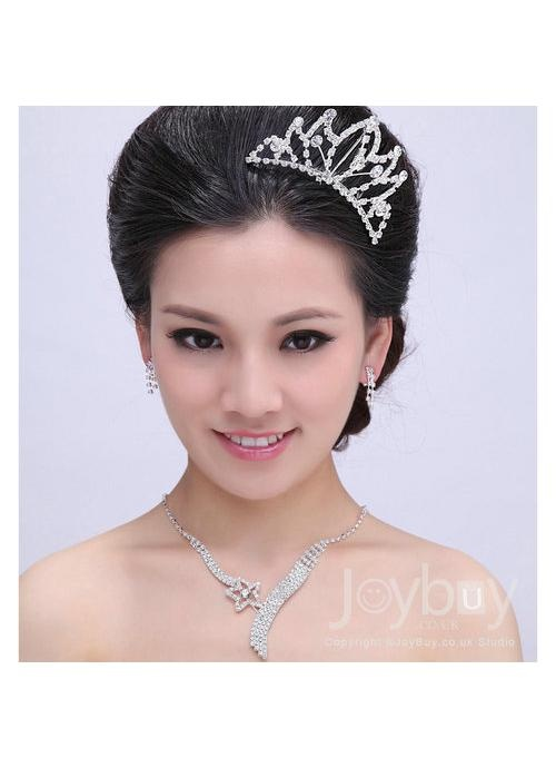 Necklace Crown Earrings Cheap Shop Wedding Accessories