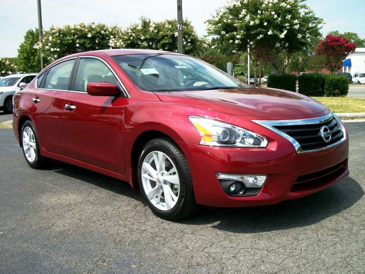 Exceptional 2015 Nissan Altima SL Red Wallpaper