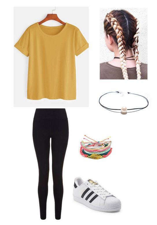5b65028e3cc1 Casual school outfit 💝 Casual School Outfits, Cute Teen Outfits, Outfits  For Teens,