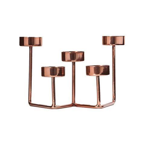 Copper Tealight Holder