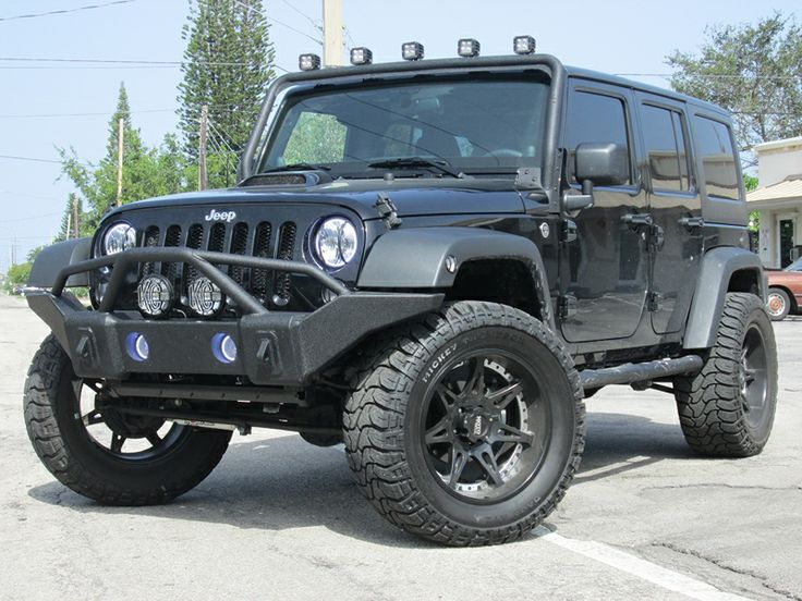 Rugged Ridge® Windshield Mount Light Bar In Textured Black For 07 Up Jeep®