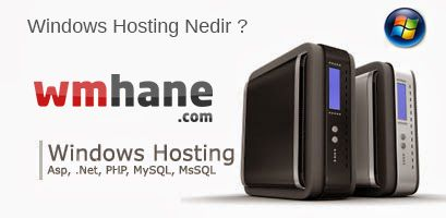 Windows Hosting Nedir ? - Windows Hosting Ne Çalıştırır ?