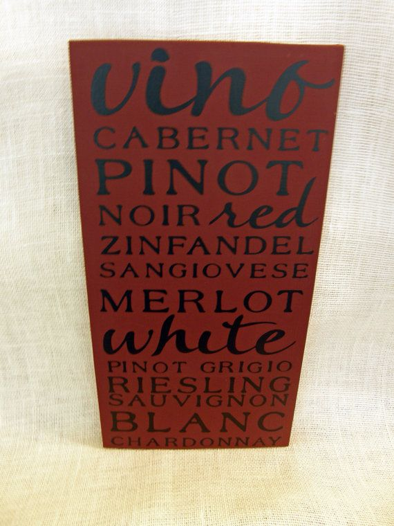 wine sign for the kitchen or bar!