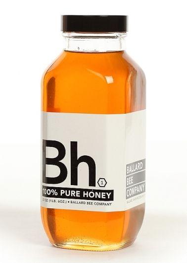 Bh 100% Pure Honey #packaging #naked #bottles