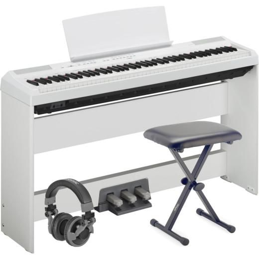 Yamaha P115 White Portable Piano; Premium Package from Yamaha P115 White Portable Piano Premium Package -  A fantastic range of Yamaha P115 White Portable Piano Premium Package from Bonners Music Superstore,  available with fast delivery.