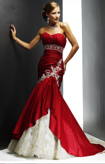 Bridesmades dress maybe? idk but its beautiful :)