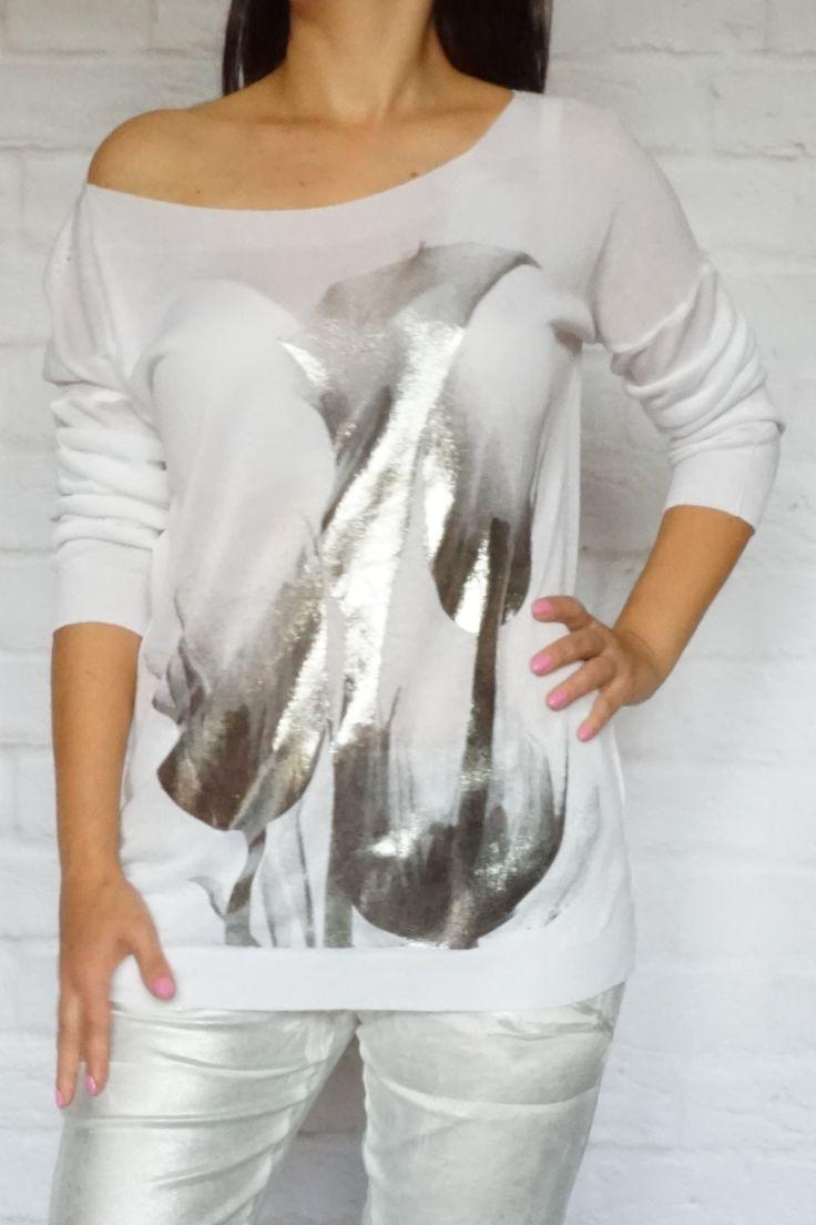 Śliczny WŁOSKI SWETEREK http://modana.com.pl/sweterek,p,1317