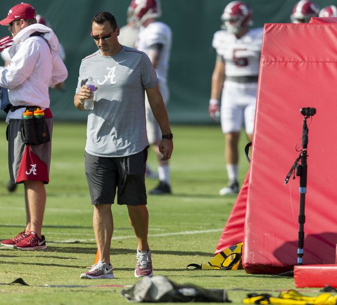 Why Steve Sarkisian took analyst role at Alabama