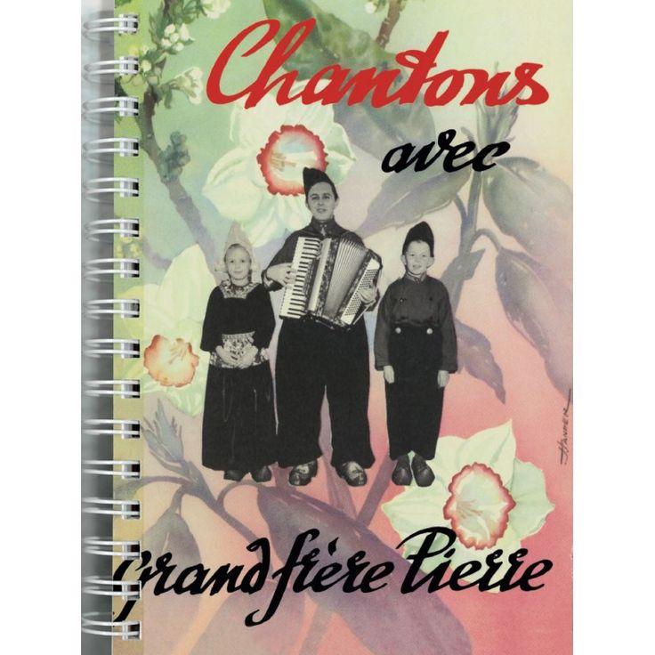 Grand choix de chants en français pour enfants proposé par Pierre van Woerden. Ce volume contient les 3 cahiers originaux, reliés par spirale métallique