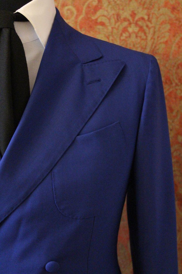 8ox wool HK$28k Oct16  Giacca doppio petto quattro tasche a toppa