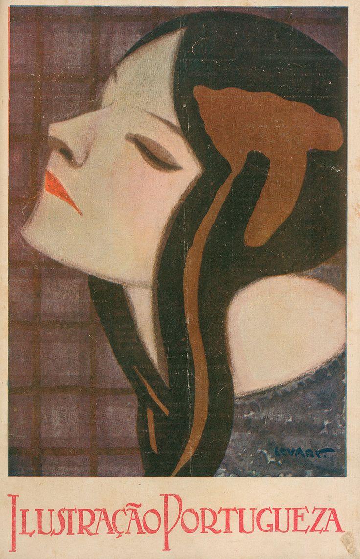 June 1922 - Ilustração Portuguesa cover by Stuart Carvalhais