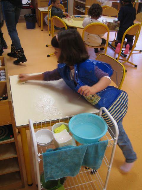 Montessori à l'école maternelle publique: L'organisation