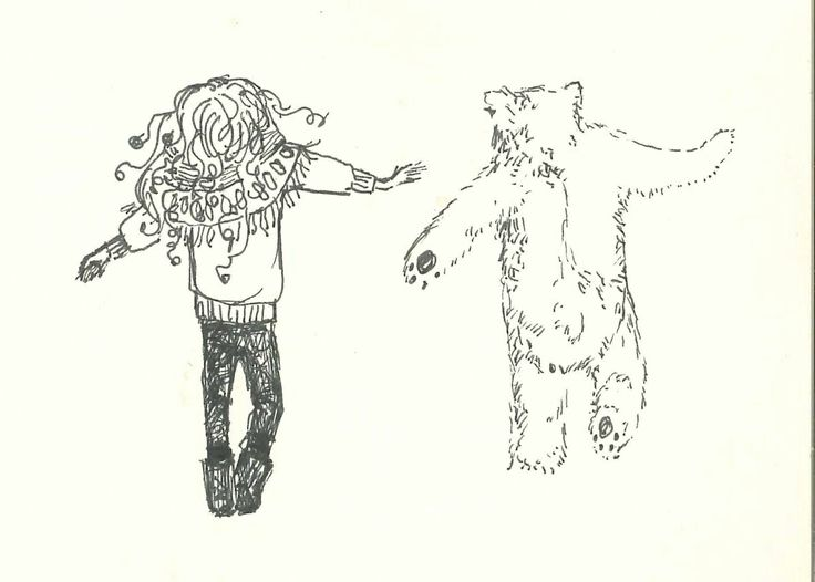 Dancing with bears Ink by Ashya Lane-Spollen