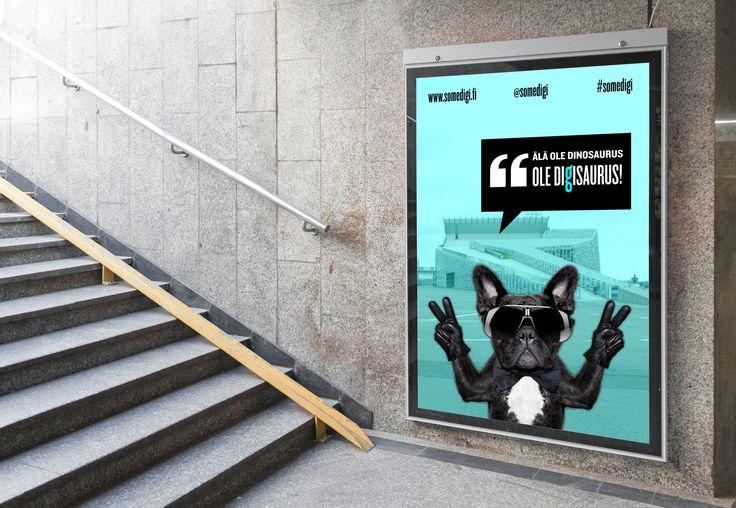 www.somedigi.fi -seminaarin slogan #attitude #dog #somedigi #Vellamo #Kotka #Finland