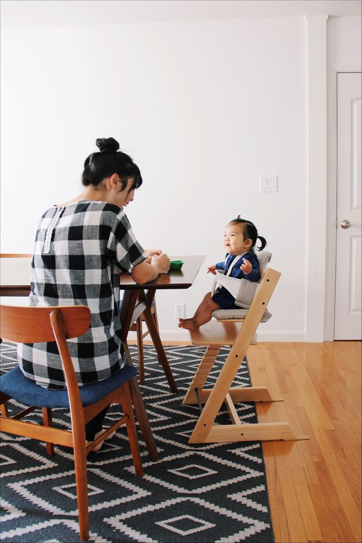 [ad] Babies love the Tripp Trapp chair by Stokke.