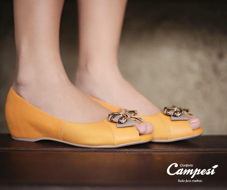 Conheça os calçados da linha Especial Joanete, que conta com uma tecnologia desenvolvida para não causar pontos de pressão nesta região do pé.
