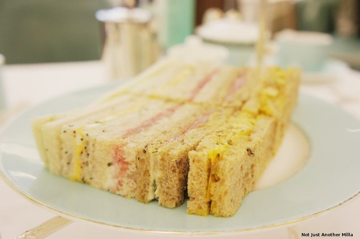 Oh the sandwiches...: afternoon tea at @Fortnum & Mason