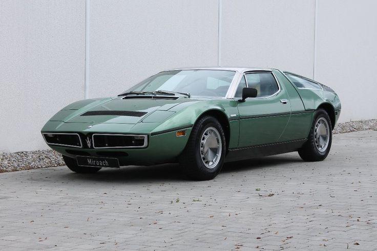 1973 Maserati Bora - 4.9 | Classic Driver Market